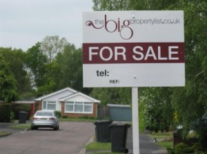A Private For Sale sign advertising a house